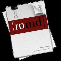 MultiMarkdown Composer 2 for Mac 2.6.9 破解版 – Mac上优秀的文本写作工具