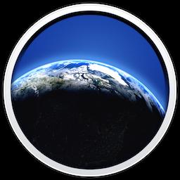 Living Earth for Mac 1.2.4 破解版 – Mac上绚丽的世界时间和天气软件