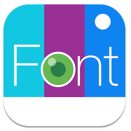 Fontography for Mac 1.0.1 激活版 – 优秀的图片特效添加工具