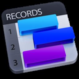 Records Mac 破解版 Mac上优秀的个人信息数据库