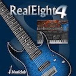 MusicLab RealEight Mac 破解版 传奇8弦电吉他