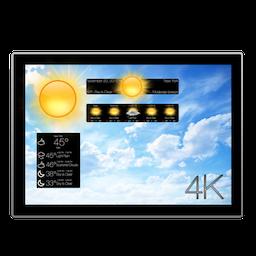 Motion Weather 4K 1.1.2 Mac 破解版 – 动态视频壁纸天气