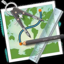 Ortelius 2.1.2 Mac 破解版 地图矢量绘图应用