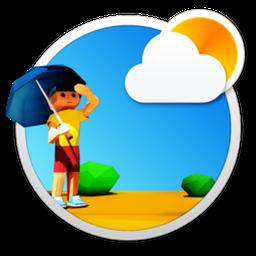 3DWeather Mac 破解版 非常漂亮的3D动画天气工具