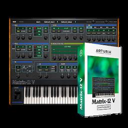 Arturia Matrix 12 2.3.2 Mac 破解版 第一款可编程模拟合成器