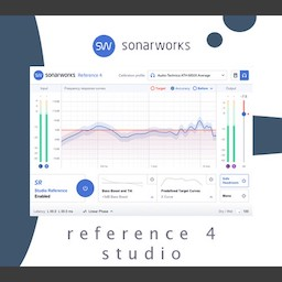 Sonarworks Reference 4 Studio Edition Mac 破解版 专业的声学校正工具