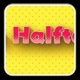 AE插件 m's Halftone Mac 破解版 AE插件形状圆点填充半调风格特效工具