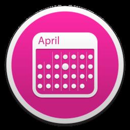 MonthlyCal Mac 破解版 非常好用的多彩日历工具