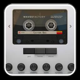 Wavesfactory Cassette Mac 破解版 盒式磁带模拟器音频插件